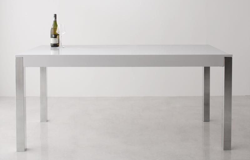 【キャッシュレス5%還元】モダンデザインソファベンチダイニング Julienne ジュリエンヌ ダイニングテーブル W160