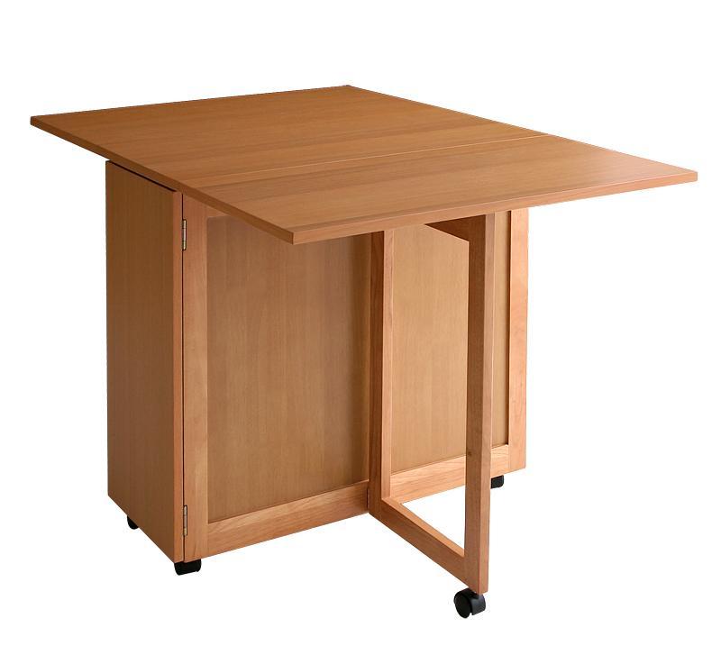 【キャッシュレス5%還元】天然木バタフライ伸長式収納ダイニング kippis! キッピス ダイニングテーブル W40-120