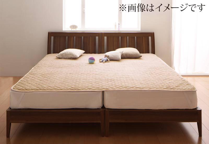 【キャッシュレス5%還元】寝心地・カラー・タイプが選べる 大きいサイズのパッド・シーツ シリーズ 敷きパッド マイクロファイバー ワイドキング