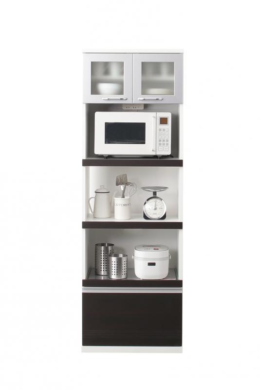 奥行41cmの薄型モダンデザインキッチン収納 Sfida スフィーダ キッチンボード W60