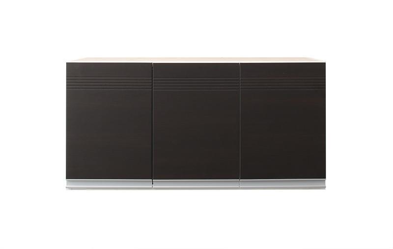 【キャッシュレス5%還元】開梱サービスなし 奥行41cmの薄型モダンデザインキッチン収納 Sfida スフィーダ 上棚 幅90
