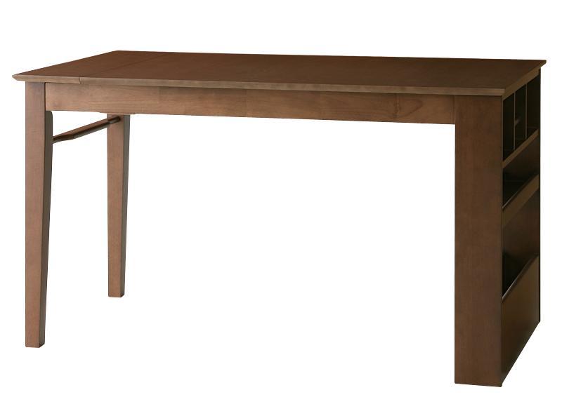 【キャッシュレス5%還元】ベンチが収納できる 省スペースエクステンションダイニング flein フラン ダイニングテーブル W135-170