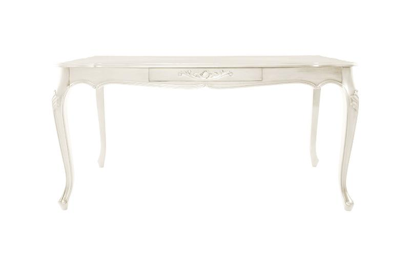 アンティーク調クラシックダイニングシリーズ Francoise フランソワーズ ダイニングテーブル W150