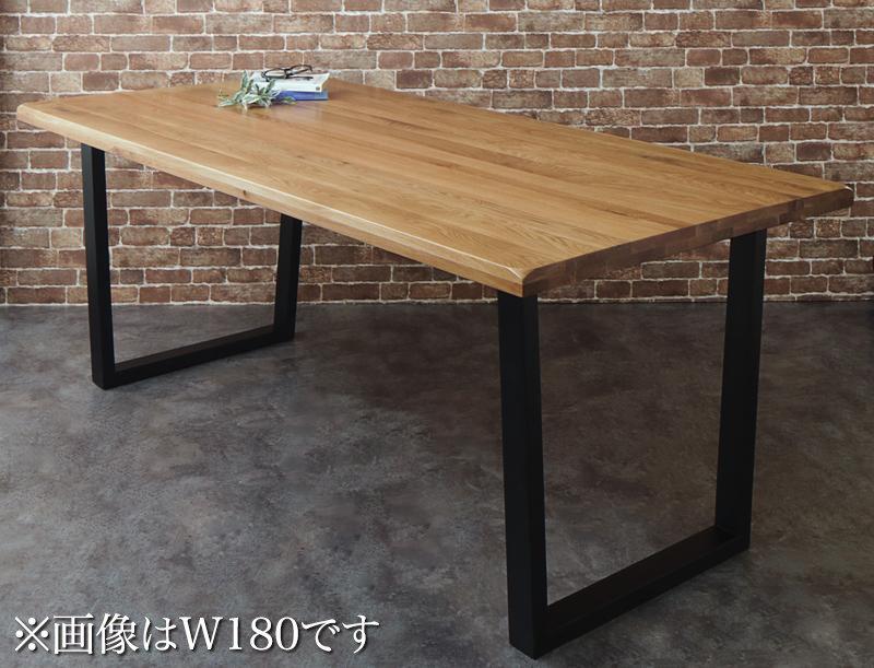 オーク 無垢材 天然木 ヴィンテージ デザイン ワイドサイズ パーティー ダイニング Coups クプス ダイニングテーブル W140