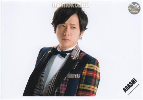 最新号掲載アイテム クリックポスト発送 5☆大好評 ARASHI 嵐 公式 写真 ARA00263 二宮和也 生