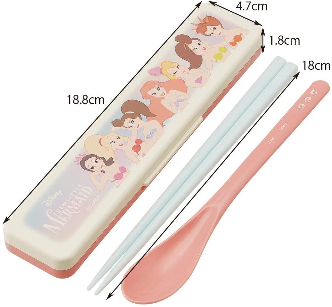 クリックポスト スケーター コンビセット 箸 スプーン セット 18cm CCS3SA アリエル 日本製 激安超特価 ディズニー シスターズ 即納最大半額