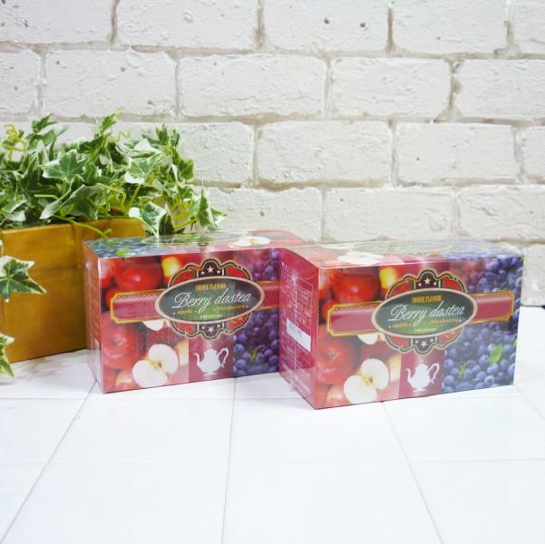 16種類のハーブを絶妙なバランスで配合したハーブティー 2個セット ベリーダスティー 3g×24包 Berrydastea 中古 通信販売 ハーブティー ケンネット ブルーベリー アップル セイロン ローズヒップ ルイボス ダスティー dastea 杜仲葉 アイス ウーロン茶 Berry ティー 桑の葉 ベリー 紅茶 ホット