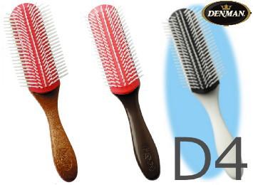 デンマンブラシの原点 再入荷/予約販売! あらゆる髪の長さに対応 DENMANデンマンD4ブラシ ブラウン or 在庫一掃売り切りセール デンマンブラシD4 ホワイトから選択 ※チークウッドグレインは廃盤です D-4