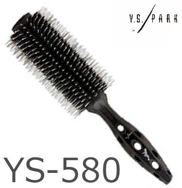 髪に ハリ ツヤ こし 送料無料でお届けします のある仕上がり Y.S.PARKYSブラックカーボンタイガーブラシ YSPARK YS580 YS-580 YSカーボンタイガーブラシ 毎週更新