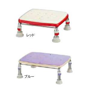 浴槽内での立ち上がりや出入りの踏み台として 介護用品 安寿 ステンレス製浴槽台R あしぴた 価格 標準17.5-25 送料無料 アロン化成 一部予約 北海道 沖縄を除く