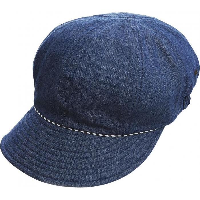 デニム素材で活動的に 折りたたんでコンパクト レディース帽子 1個から送料無料 激安通販専門店 2020秋冬新作 髪型フンワリUVデニムキャスケット ブルー ネイビー 頭囲56~58cmデニム素材で活動的に