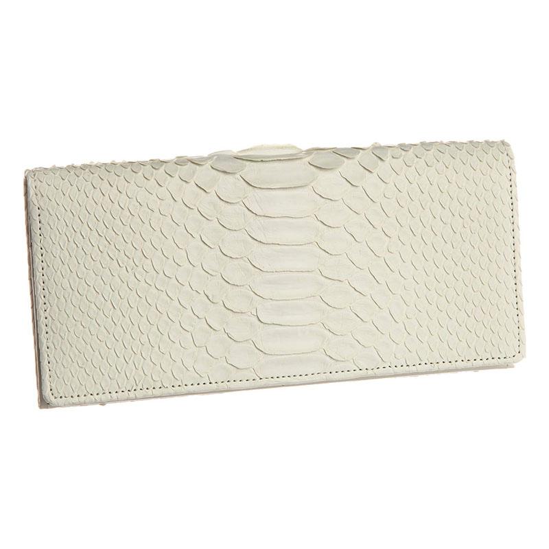 【大感謝価格 】白蛇 長財布 K9694