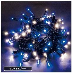 大感謝価格『LEDストリングスDUO (散光タイプ/黒コード) LED-PL-100C-10M-MIX』『メーカー直送品。代引不可・同梱不可・返品キャンセル・割引不可』イルミネーション クリスマス 旧206t07255 旧LED-PL-100-10M-MIX送料無料10P03Dec16