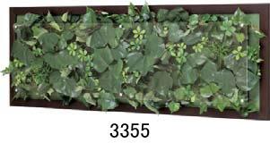 大感謝価格『木目フレームウォールグリーン 3355or3356or3357』『メーカー直送品。代引不可・同梱不可・返品キャンセル・割引不可』観葉植物 壁掛け ディスプレイ 飾る インテリア 雑貨 グッズ送料無料10P03Dec16