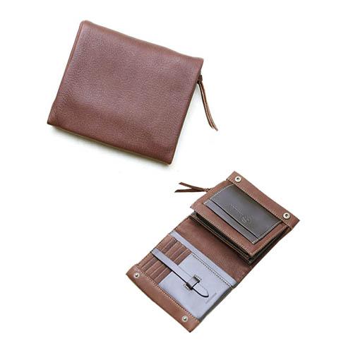 大感謝価格『二つ折り財布A(ギフトBOX付) DS-25』『メーカー直送品。代引不可・同梱不可・返品キャンセル・割引不可』(手作りの為2週間前後に出荷予定)ウォレット ファッション 小物 プレゼント 雑貨 グッズ送料無料10P03Dec16