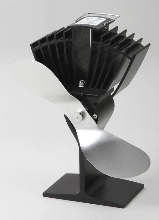 【メーカー直送・大感謝価格】薪ストーブ オプション ストーブファン スーパーエアー SF-812N W13.6cm×H21.3cm×D12.0cm 羽の長さ20.5cm