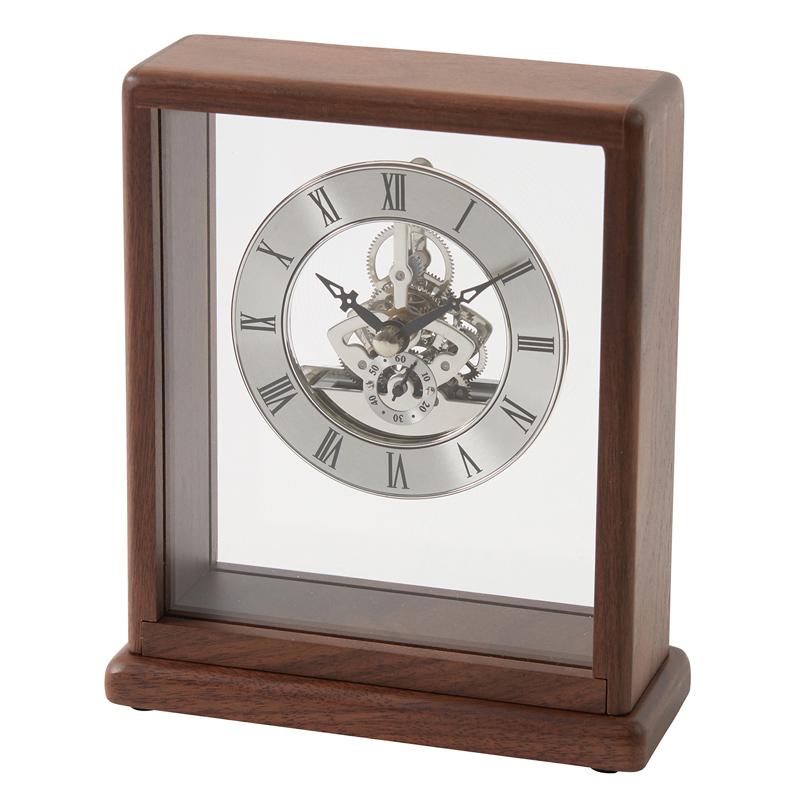 【メーカー直送・大感謝価格】853-S100 銀の時計 H165×W140×D60mm Chatani Catalog vol.33 346シリーズ