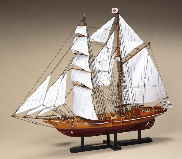 大感謝価格『木製帆船模型1/70『忍路丸(おしょろまる)』(w)』【組み立てキットにつき完成品ではありません】送料無料『メーカー直送品。代引不可・同梱不可・返品キャンセル・割引不可』