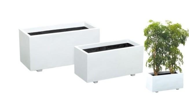 大感謝価格『ホワイトプランター W-100型』送料無料『メーカー直送品。代引不可・同梱不可・返品キャンセル・割引不可』 ポイントインテリア 植木鉢 ガーデニング10P03Dec16