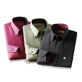 【メーカー直送・大感謝価格 】SALOON EXPRESS サルーンエクスプレス スエード調ボタンダウンシャツ3色組 GV-007