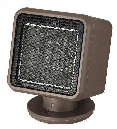 【大感謝価格 】人感センサー付 リフレクトヒーター コアビーム ブラウン RH-T1838BR