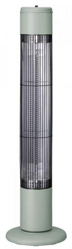 【大感謝価格 】タワーカーボンヒーター ノッポ レトログリーン CB-T1831GN