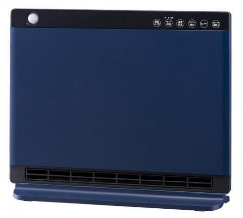 【大感謝価格】人感/室温センサー付 パネルセラミックヒーター NEWヒートワイドスリム ネイビー CHT-1636NV