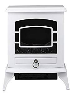 【大感謝価格 】ノスタルジア 暖炉型ヒーター ホワイト CH-T1840WH