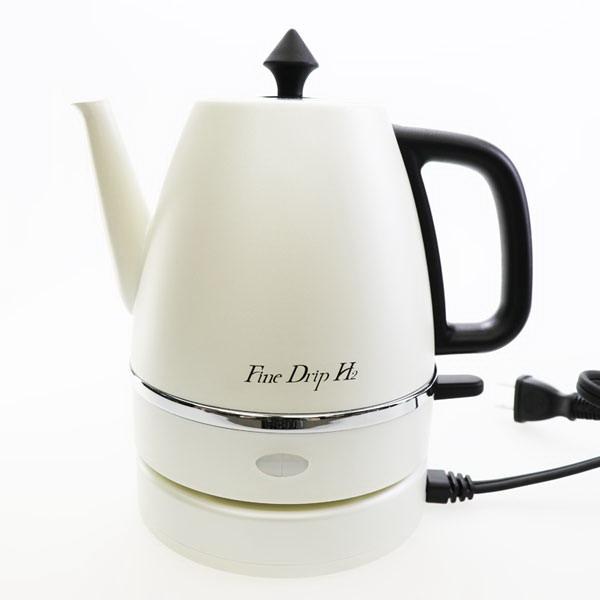 【大感謝価格】水素水ステンレスケトル KT-FD001 ホワイト