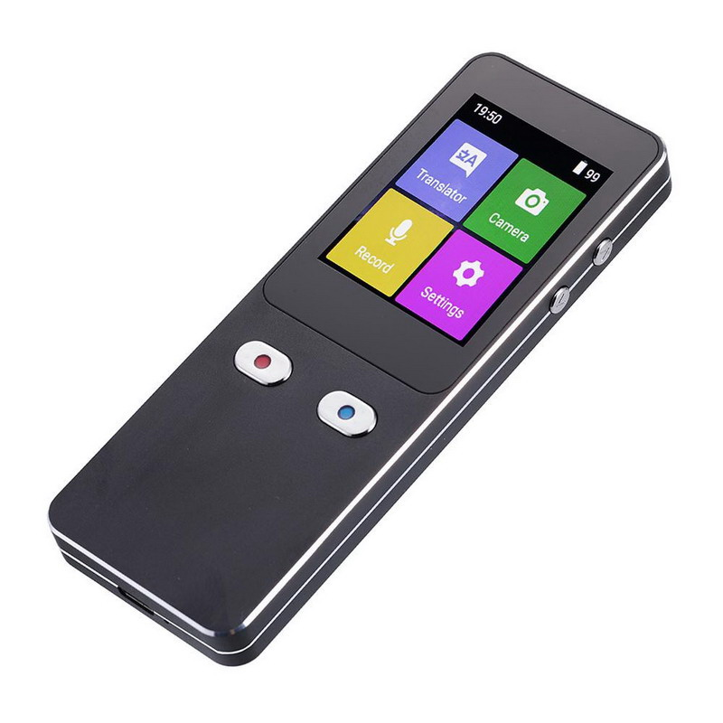 【大感謝価格】カメラ付翻訳機 SLI-WTC500 音声入出力44言語対応 音声入力120言語対応