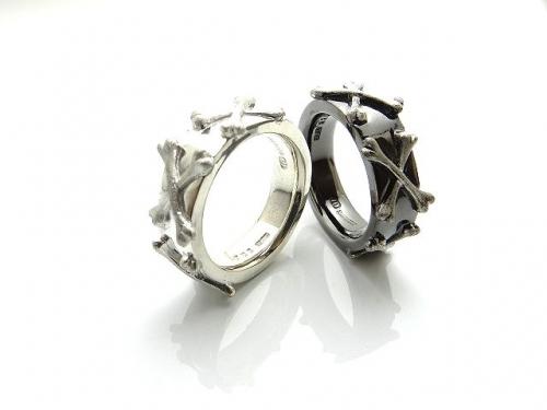 『KR-273 NW-ボーン リング』(10-15営業日前後で出荷、割引不可)誕生日 プレゼント メンズ レディース アクセサリー 指輪 リング
