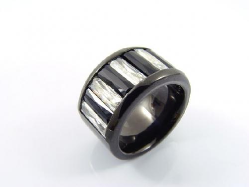 『KR-279 NW-3×10のストレートバケットカット リング』(10-15営業日前後で出荷、割引不可)誕生日 プレゼント メンズ レディース アクセサリー 指輪 リング