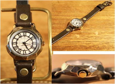 【大感謝価格 】手作り時計 LEO CRAFT BS-DW124