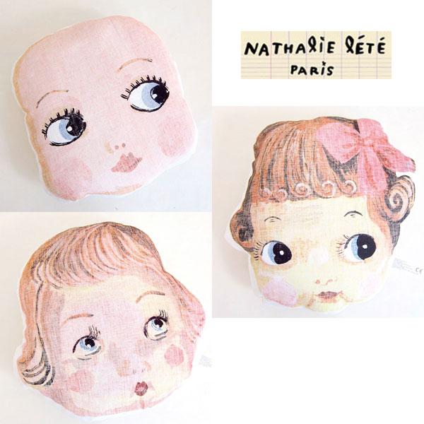 纳塔莉背囊和背囊脸枕头 (枕面) 孩子房间的装饰和庆祝生日,生日流行 !