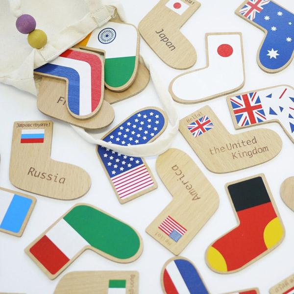【送料無料】gg*(ジジ)×AIR FRANCE  step to the world(ステップトゥーザワールド)【誕生日プレゼント 1歳 2歳 3歳 男の子 女の子 子供 英語】