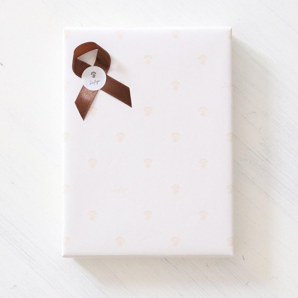 Box + ribbon lapping
