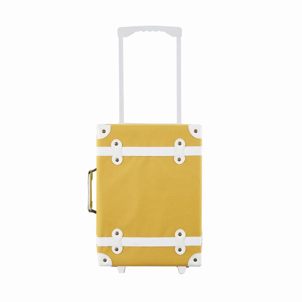 【11月上旬入荷次第お届けのご予約】Olli Ella(オリエラ)See-Ya Suitcase MUSTARD キッズキャリーバッグ マスタード【キッズ 子供 ままごと】【インテリア 収納】【スーツケース】, 大賢水産:3475831a --- fvf.jp