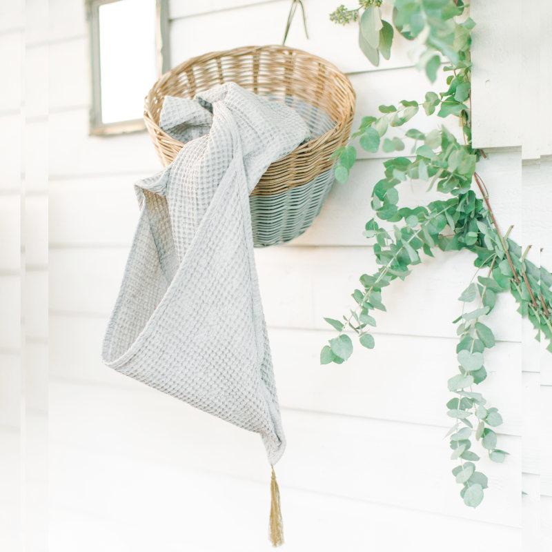 numero74 / ヌメロ74 Baby Bath Towel  ベビーバスタオル 5colors | インポート/イタリア】子供 ベビー ガーゼワッフル 湯上りタオル おくるみ 出産お祝い オーガニック ニュアンスカラー