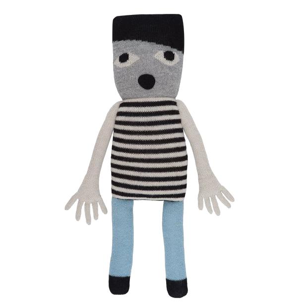 【送料無料】LUCKYBOYSUNDAY/ラッキーボーイサンデー Uffie Doll 上質なベビーアルパカ100%のデンマークの編みぐるみ。出産祝いやギフトなどの贈り物として人気♪【インテリア 雑貨】【北欧 あみぐるみ 人形 ぬいぐるみ クッション】