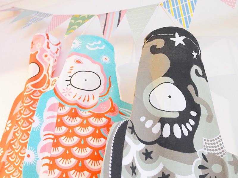 法國出生天夫人 Mo / 主席馬飄帶 S 大小的兒童節 (探戈沒有重陽節) 禮品和禮物,寶貝 ! (鯉魚旗分庭) 作為掛毯 (掛毯)。 fs3gm