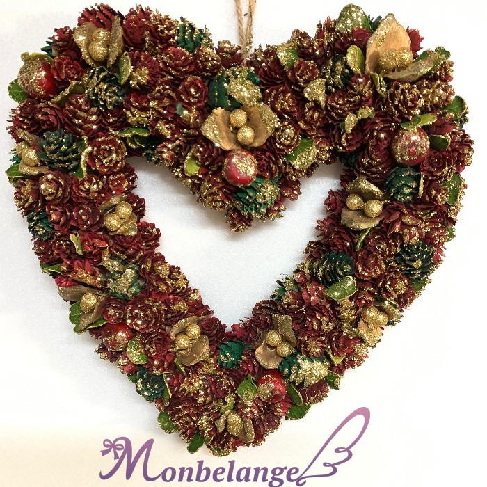 リース プレゼントに 期間限定で特別価格 敬老の日 オンラインショッピング ハートリースMサイズ 結婚祝い バレンタインデー 誕生祝