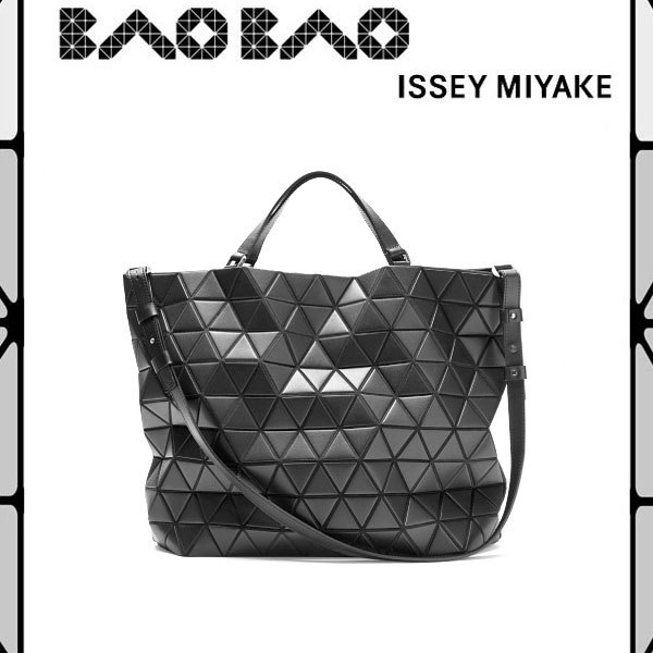 Baobao Issey Miyake Tote Bag Black Briefcase Crystal Shoulder 2 Bb61ag362 Commuter School Wide