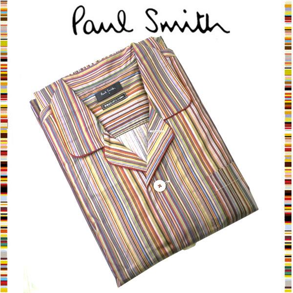 ポールスミス Paul Smith☆ファッション ナイトウェア パジャマ 夜 寝間着 おしゃれ マルチストライプ カラールームウェア 読書 メンズ ブランド クリスマス ハロウィン バレンタイン