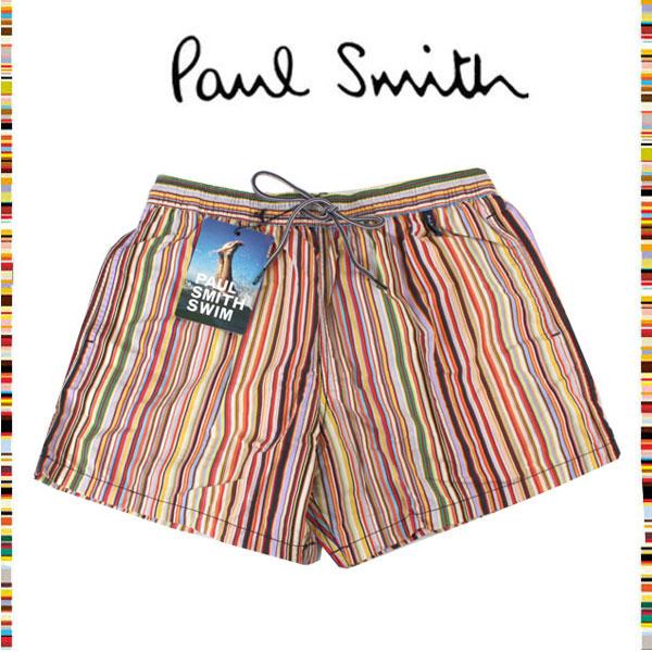 afe2dc80a8 moncachette: Paul Smith Paul Smith ☆ fashion swimsuit swimming wear multi- stripe surf underwear board shorts trip resort Japan having not yet  occurred sea ...