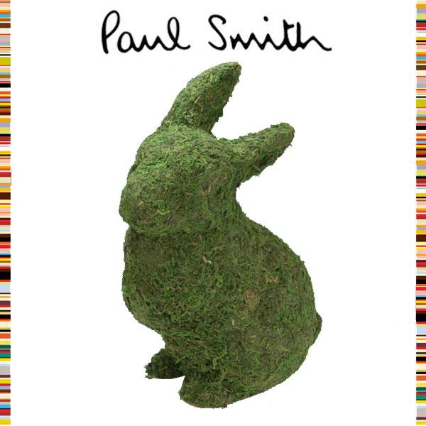 ポールスミス Paul Smith☆ インテリア雑貨 ウサギ ラビット 芝生 草 グラス 置物 オブジェ マスコット 人形 ドール 置物 ブランド クリスマス ハロウィン バレンタイン