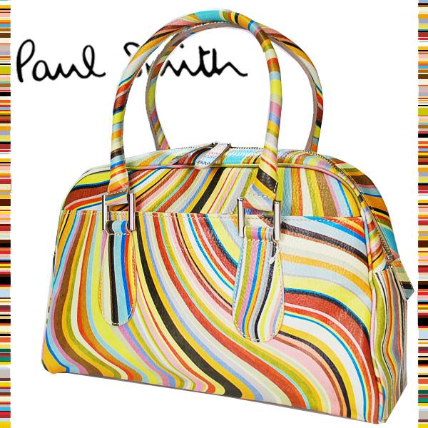 ae8b39aec Paul Smith Paul Smith WOMEN ☆ Boston bag handbag ○ WOMEN ○ Lady's  multi-swirl ...
