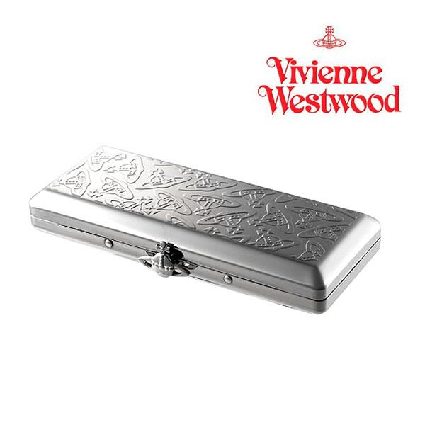 ヴィヴィアンウエストウッド Vivienne Westwood☆たばこケース ORB オーブ 立体 メタル スリム タバコ 入れ ブランド クリスマス ハロウィン バレンタイン