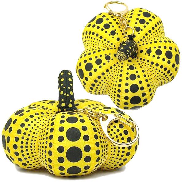 弥生草间弥生草间弥生南瓜 (南瓜) 波尔卡圆点南瓜南瓜密匙环与吉祥物存在非常特殊盒送礼物给伟大的白色情人节礼物 10000 日元或更多