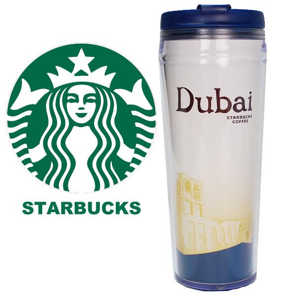 STARBUCKS Starbucks星巴克☆大玻璃杯迪拜Dubai海外限定礼物赠品