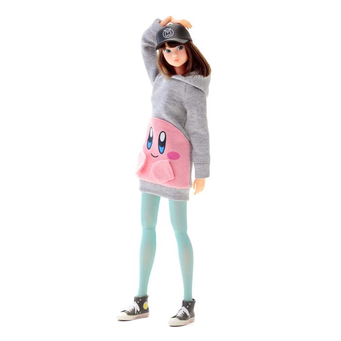 ≪モモコドール≫ 星のカービィ カービィ パーカーセット(Kirby momoko DOLL Kirby Hoodie Set) momokoDOLL